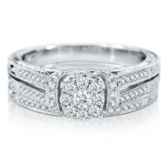 Products Engagements and Diamond engagement rings on Pinterest