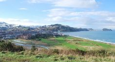 Zarautz #campingcar Camping Car, Mountains, Water, Travel, Outdoor, Spanish, Basque, Gripe Water, Outdoors