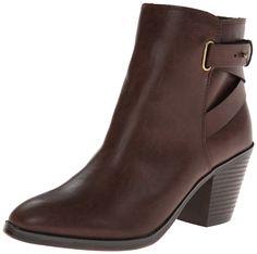 Madden Girl Women's Klaudia Boot,Cognac,6 M US
