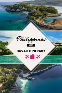 A 3 Day Davao Itinerary Davao, Manila, Adventure Time, Philippine Holidays, Travel Guides, Travel Tips, Philippines Travel, Beach Trip, Beach Travel