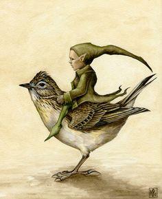 Pixy and Skylark by ~Markelli on deviantART