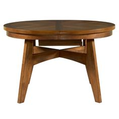 Tiburon Round Wood Dining Table And Chairs By Powell