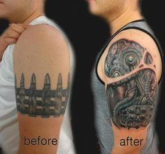 Biomechanical cover-up by Skot Olsen
