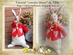 """Tutorial - """"conejito Harar"""" de Tilda"""