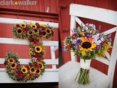 A vintage farm wedding