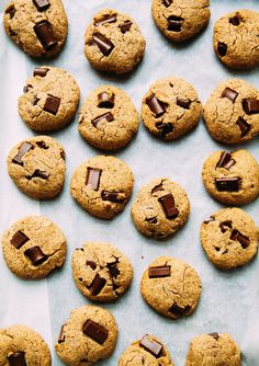 WONDER COOKIES! VEGAN, GRAIN-FREE & DATE-SWEETENED CHOCOLATE CHIP COOKIES (WITH A NUT-FREE OPTION)
