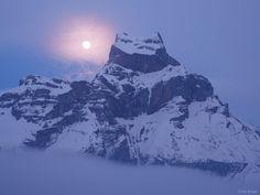 Hahnen Moon ~ Engelberg, Switzerland