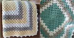 How many times raise a question about the best crochet pattern of blanket then is one answer – Granny Square – a baby blanket. There