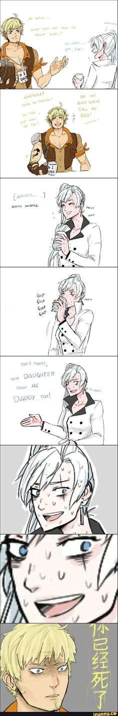 Weiss...really? <----No coming back from that
