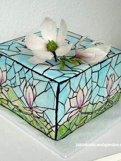 Top Stained Glass Cakes - CakeCentral.com