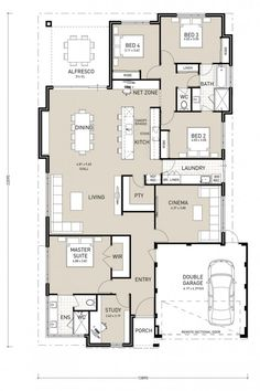 Waterside Ultimate - Switch Homes House Plans Australia, Circle House, Cottage Plan, House Blueprints, Sims House, Small House Design, New Home Designs, Plan Design, Next At Home