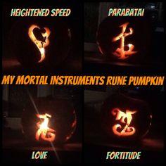 My mortal instruments pumpkin 2013