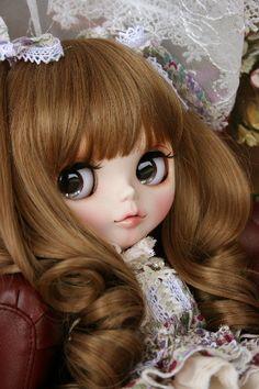 asico's dolly angel カスタムブライス(オークション) - New Ideas Ooak Dolls, Blythe Dolls, Girl Dolls, Beautiful Barbie Dolls, Pretty Dolls, Lolita Fashion, Fashion Dolls, Bride Dolls, Smart Doll
