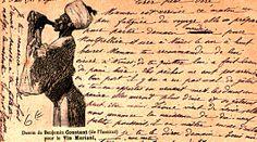 Vin Mariani Postcard (Benjamin Constant)