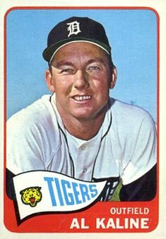 1965 Topps Al Kaline Detroit Tigers Baseball Card Baseball Park, Baseball Photos, Baseball Card Values, Detroit History, Detroit Tigers Baseball, Better Baseball, Softball Players, Pete Rose, Major League