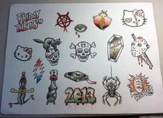 our flash sheet!!!