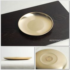 [by Artisan Kyung-Su Kim]Korean Bangjja Yugi Circular Plates