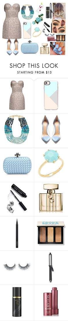 """50 Shades of light blue"" by nicks-1 on Polyvore featuring moda, Casetify, Akola, Gianvito Rossi, Bottega Veneta, Ippolita, Bobbi Brown Cosmetics, Gucci, MAC Cosmetics e GHD"