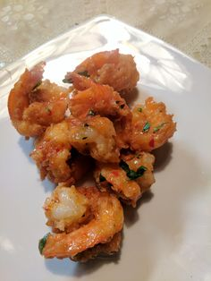 [homemade] Coconut Shrimp With A Spicy Mango Chili Lime sauce #recipes #food #cooking #delicious #foodie #foodrecipes #cook #recipe #health