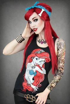 Dark Ariel Red