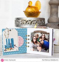 Gratitude Mini Album @pinkpaislee #pinkpaislee #ppcedarlane @paroe #minialbum