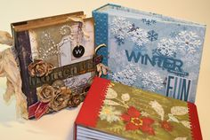 The Paper Trail: On the FIRST Day of Christmas Projects 2011...stack the deck binding