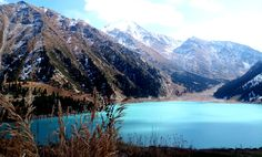 The Big Almaty Lake Russian Landscape, Kazakhstan, Planet Earth, Planets, Mountains, Nature, Travel, Naturaleza, Viajes