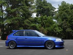 Project Car - JonDM on Pinterest - B18C1 Honda Civic CX EJ6 (EK)