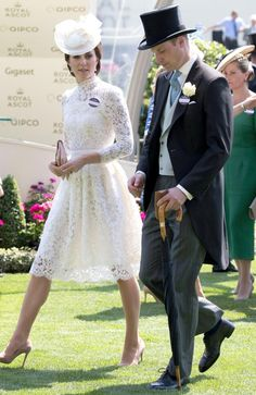 Kate and Wills take a stroll. Picture: John Phillips/Getty