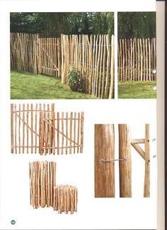 Kastanjestaket bäst i pris Materials for the garden fence For garden fences th