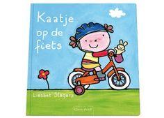 fijn peuterboekje 'kaatje op de fiets'