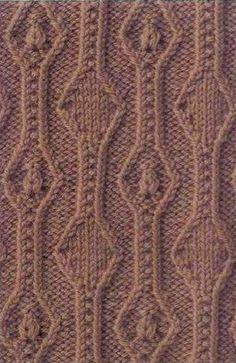 Схемы узоров спицами  Узоры спицами, которые подходят для вязания различной теплой одежды: пуловеров, кардиганов, жилетов. Все представленные узоры связаны на изнаночной глади, с различными переплетениями петель в разные стороны. Благодаря этому все узоры выглядят весьма рельефно и выпукло. Почти все узоры имеют геометрическую составляющую в своем рисунке: это всевозможные ромбы, зигзаги и прямые линии. Оптимальная толщина спиц для вязания таких узоров - №2,5-3,5. Далее вы можете…