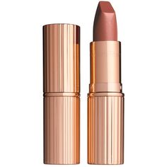Charlotte Tilbury Matte Revolution Lipstick ($32) ❤ liked on Polyvore featuring beauty products, makeup, lip makeup, lipstick and moisturizing lipstick