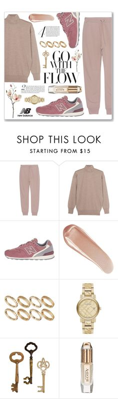 """""""Run the World in New Balance"""" by plnzh ❤ liked on Polyvore featuring T By Alexander Wang, Tom Ford, New Balance Classics, NARS Cosmetics, ASOS and Burberry"""