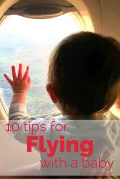 10 tips for flying with a baby | The Life Jolie