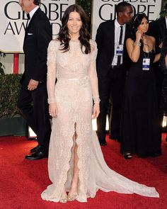 Jessica Biel - 69th Annual Golden Globe Awards
