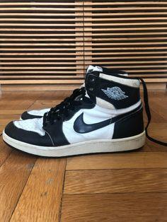 eb73d43d883d Details about 1985 Original Nike Air Jordan I 1 Red Black White Chicago OG  Vintage sz 9.5