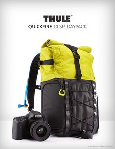 Thule Quickfire - DSLR Daypack. A bag concept by Brent Radewald. www.brentradewald.com