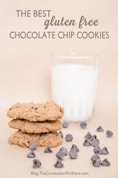 Best Gluten Free Chocolate Chip Cookie Recipe - With Oat Flour