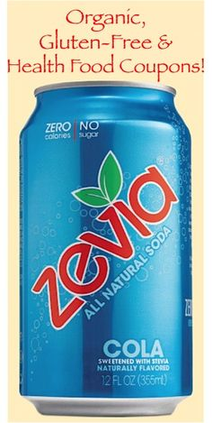 """I love Zevia!  When I want a """"cola,"""" this is what I reach for.  No sugar, artificial sweetener, AND it's non-GMO!"""