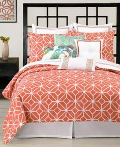 trina turk bedding trellis coral comforter and duvet cover sets bedding collections bed u0026 bath macyu0027s