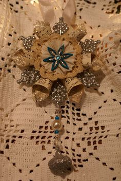 Quill Cottage: Christmas Ornament Tutorials...