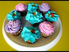 How to decorate cup cakes