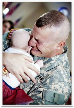 For missing the birth of your child so that I could be at the birth of mine - US military fathers you inspire me.