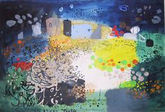 I never ever tire of Mr Piper. He knew how to paint. John Piper Artist, Famous Artists, British Artists, Process Art, Green Man, Landscape Paintings, Landscapes, Book Design, Painting & Drawing