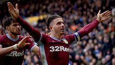 Aston Villa captain Jack Grealish has spoken of his relief that Birmingham City fans punch with all the strength of a pre-pubescent girl, after he was attacked from behind but still able to go on to score the winner. Aston Villa Fc, Jack Grealish, Punch In The Face, Captain Jack, Football Players, Birmingham, Premier League, Little Girls, Joker