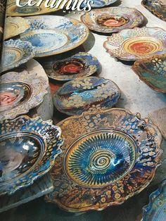 Surface design John Calver Ceramics monthly  December 2000