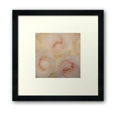Time to BLOOM! The Dreamy Pink Roses Framed Art by Jacqueline Cooper- #art #decor #flower #roses #framedart #photography Flower Lover? This up close image of dreamy pink roses is bound to be a hit. The image can be purchased as a print and on many great products. Just click on the visit link for more! For more inspirational images, quotes and mindful reads visit myaspiringsoulfullife.com.