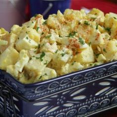 Southern Vidalia Onion Potato Salad Recipe from temp-tations | temp-tations® by Tara