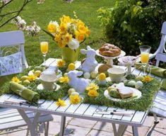 Ostern Tischdeko Idee